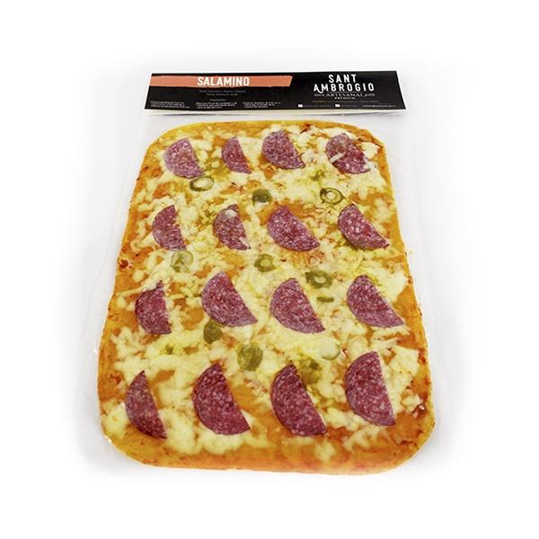 Pizza Masa Fina Salamino